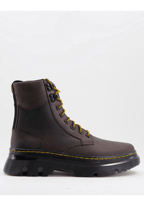 Dr Martens tarik boots in gaucho brown leather