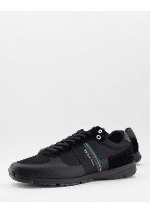 PS Paul Smith Huey leather trainers in black