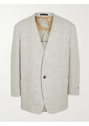 Fear of God - Everyday Unstructured Donegal Wool Blazer - Men - Gray - IT 52