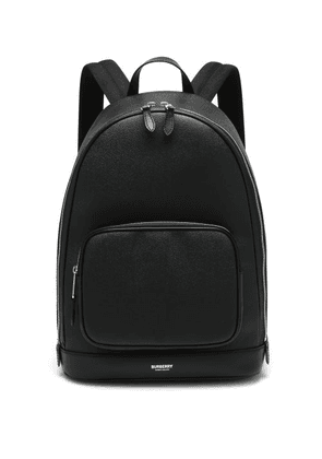 Burberry - Rocco Palmellato-leather Backpack - Mens - Black