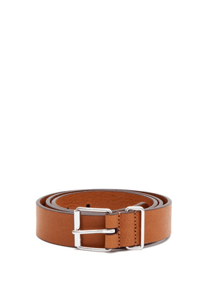 Anderson's - Leather Belt - Mens - Tan