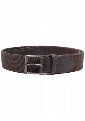 Anderson's leather trim belt - Brown