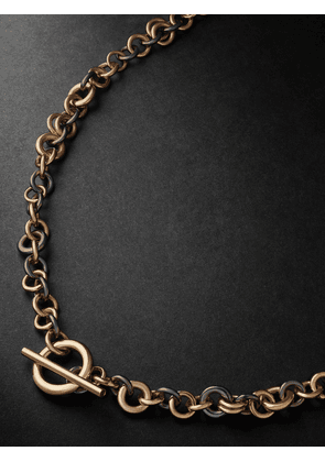 Spinelli Kilcollin - Yellow Gold, Rose Gold and Rhodium-Plated Necklace - Men - Gold