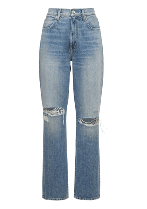London High Rise Distressed Jeans