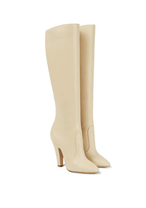 68 110 leather knee-high boots