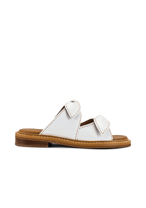 See By Chloe Kamilla Sandal in White. Size 37, 38, 39, 40.