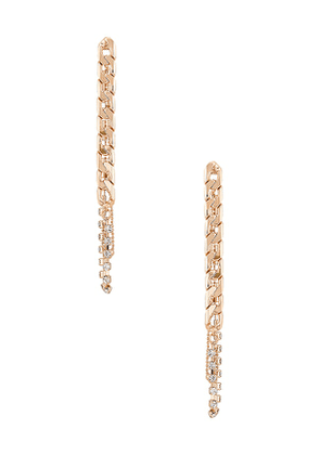 8 Other Reasons In Control Earring in Metallic Gold.