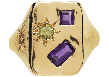Seb Brown Gold Witchy Ring