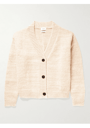 Rhude - Monte Carlo Mohair and Wool-Blend Cardigan - Men - Neutrals - S