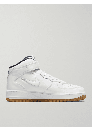 Nike - Air Force 1 Mid Leather Sneakers - Men - White - US 6