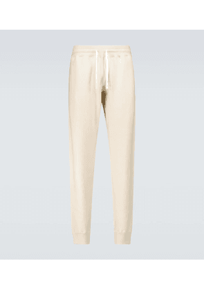 Knitted cashmere sweatpants
