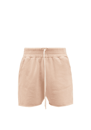 Les Tien - Yacht Cotton French Terry Shorts - Mens - Pink