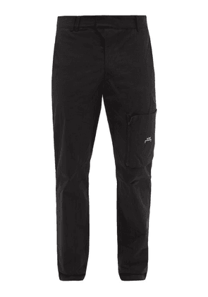 A-Cold-Wall* - Circuit Cotton-twill Cargo Trousers - Mens - Black