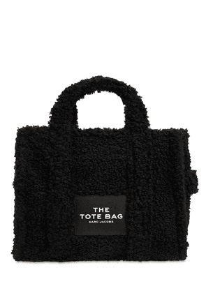 Small Traveler Faux Teddy Tote Bag
