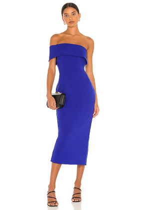 Katie May Apollo Dress in Blue. Size L.