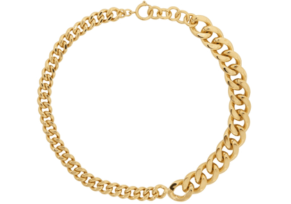 A.P.C. Gold Suzanne Chain Necklace