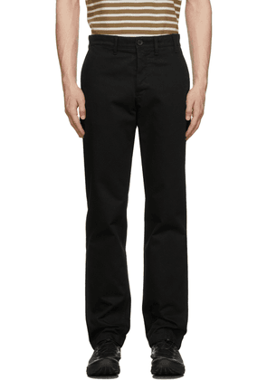 Norse Projects Black Aros Heavy Trousers
