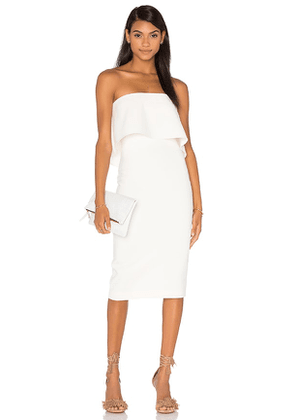 LIKELY Driggs Dress in White. Size 0, 8.