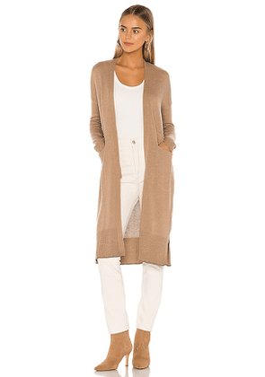 Lovers and Friends Conor Cardigan in Nude. Size S.