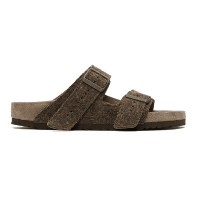 e72dd2cb00328f Rick Owens Brown BIRKENSTOCK Edition Wool Arizona Sandals ...