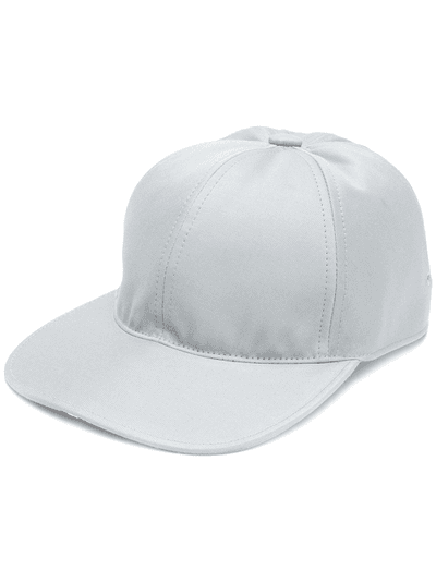 Thom Browne 6-Panel Baseball Cap With Red e9409a8e3a54