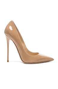 d1e37dc02a Jimmy Choo Anouk 120 Patent Leather Pump in Nude   MILANSTYLE.COM