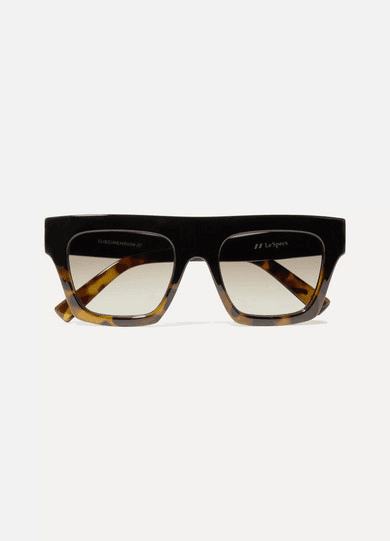 where can i buy clearance prices united states Le Specs | Subdimension D-frame Tortoiseshell Acetate Sunglasses ...
