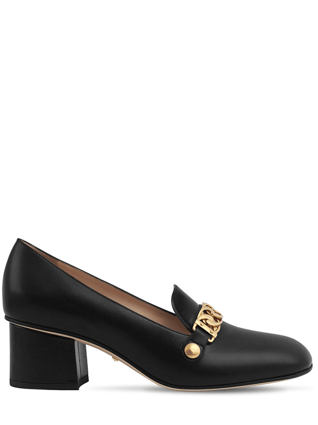 f1ef3ff82f2 55MM SYLVIE LEATHER LOAFERS