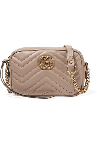 a582a84a71af Gucci | Gg Marmont Camera Mini Quilted Leather Shoulder Bag ...