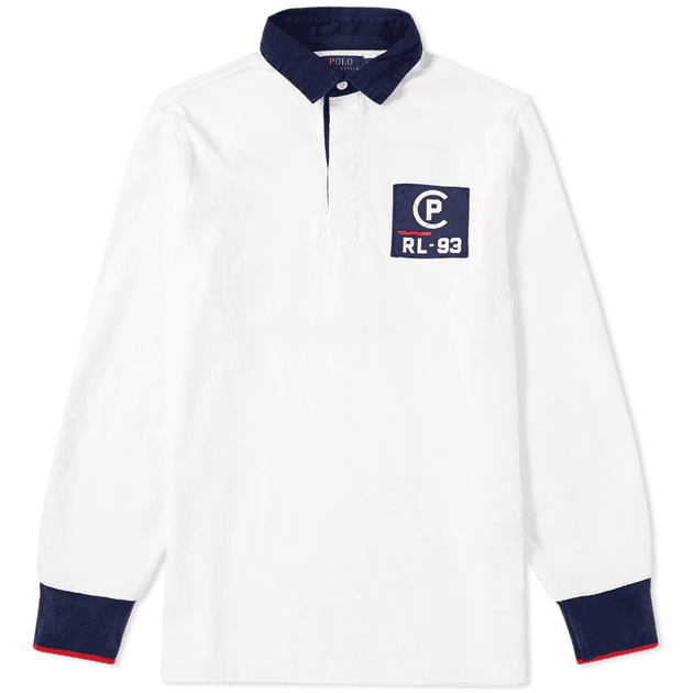 cc8ee11c451ef Polo Ralph Lauren Americas Cup CP-93 Rugby Shirt White