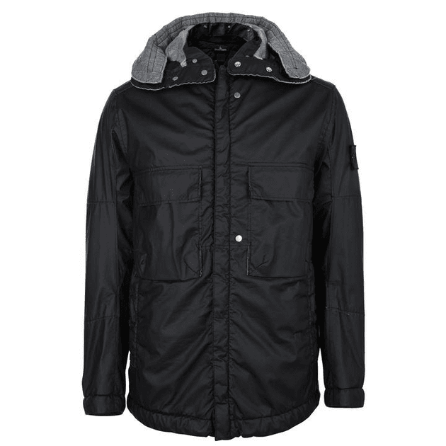 01907ef3c57 STONE ISLAND SHADOW PROJECT Hooded Parka Jacket | MILANSTYLE.COM