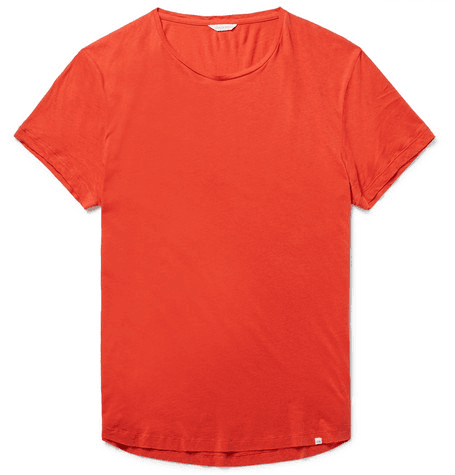 b19002afbe0 Ob-t Slim-fit Cotton-jersey T-shirt   MILANSTYLE.COM
