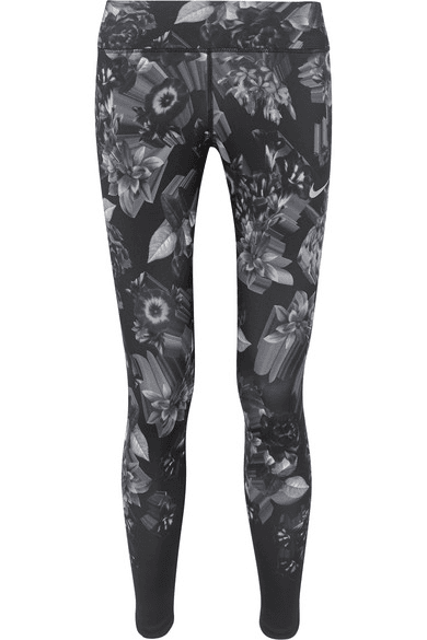 f25d141781ed31 Nike | Epic Lux Printed Stretch Leggings | Black | MILANSTYLE.COM