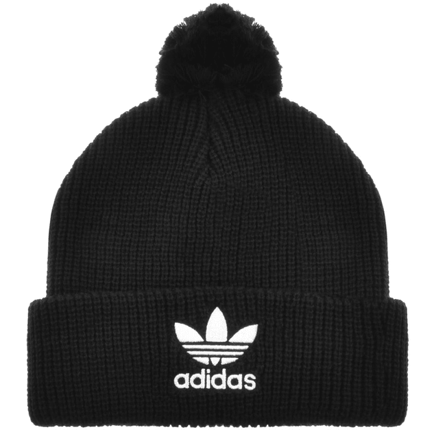 4d7858e75fe07 Adidas Originals Beanie Hat Black