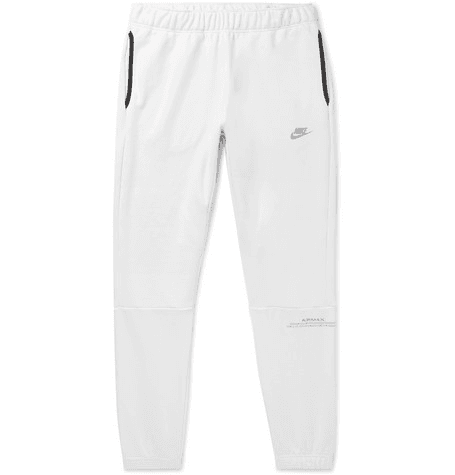 864e115f7 Nike | Air Max Tapered Loopback Cotton-blend Jersey Sweatpants ...