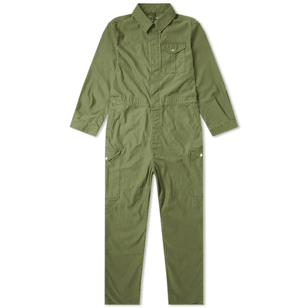 6f355ccc53eff4 Nigel Cabourn Lybro Military Coveralls Army