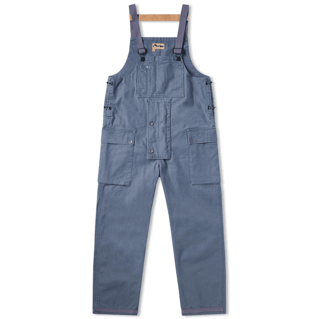 d8807053e77c Nigel Cabourn x Lybro Naval Dungaree Washed Blue