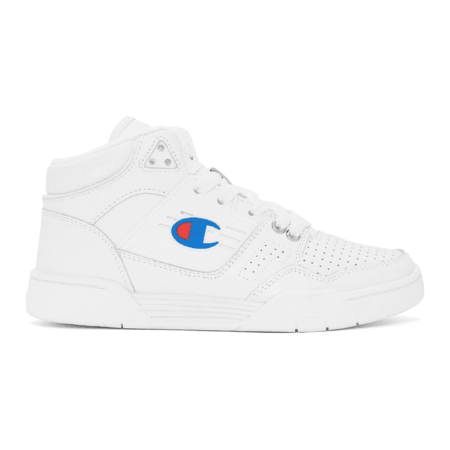 f36b7882e1c Champion Reverse Weave White 3 On 3 Sneakers