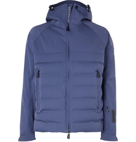 30fda83344dd Moncler Grenoble - Achensee Quilted Stretch-twill Down Ski Jacket - Blue