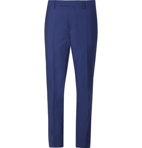 ef172594 Paul Smith | Navy Soho Slim-fit Wool And Mohair-blend Suit Trousers | Navy  | MILANSTYLE.COM