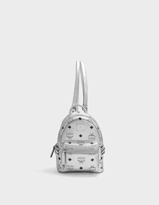 Stark Backpack 20 in Berlin Silver Coated Canvas