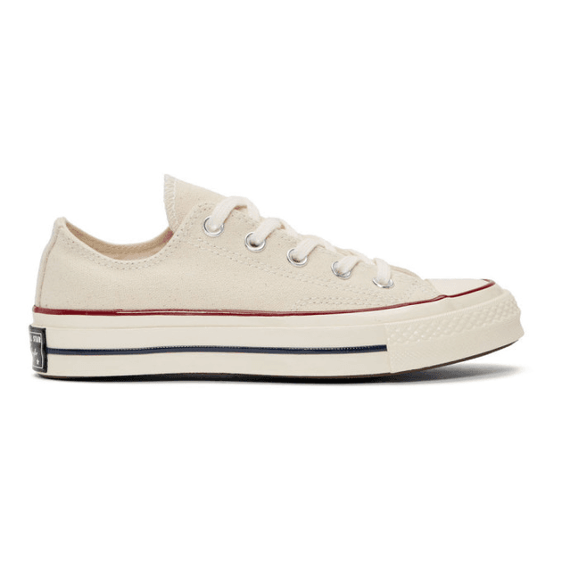 Converse Off White Chuck 70 Low Sneakers | MILANSTYLE.COM