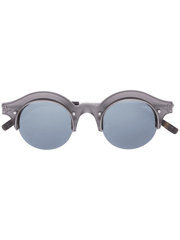 f84fbe3a7 Matsuda round shaped sunglasses | Grey | MILANSTYLE.COM
