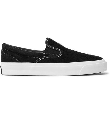 Converse One Star Cc Suede Slip on Sneakers Black