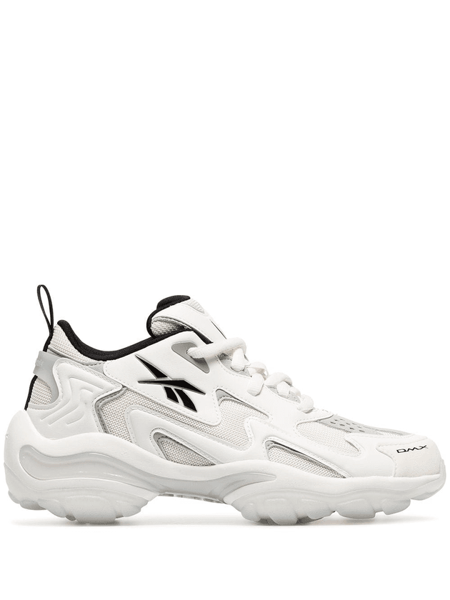 a9b113df6 Reebok off-white DMX Series 1600 chunky low-top leather sneakers ...