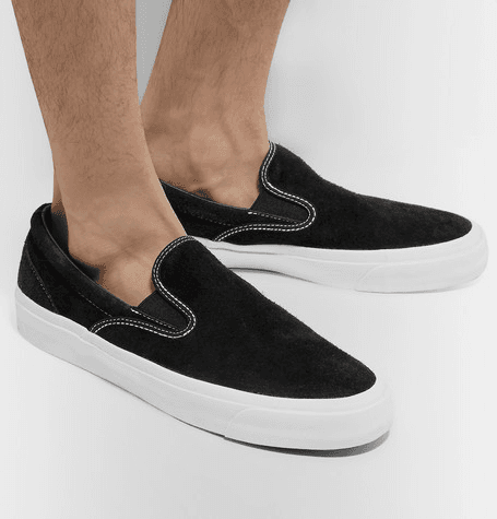 Converse | One Star Cc Suede Slip on Sneakers | Black
