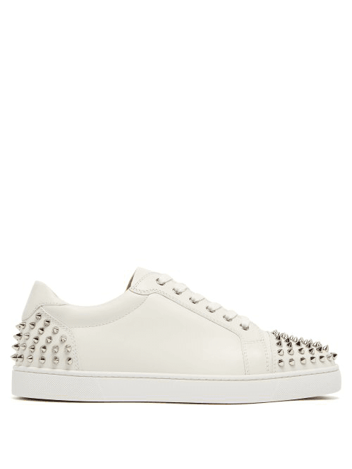 best sneakers afef5 2d001 Christian Louboutin | Seavaste 2 Spiked Leather Low Top ...
