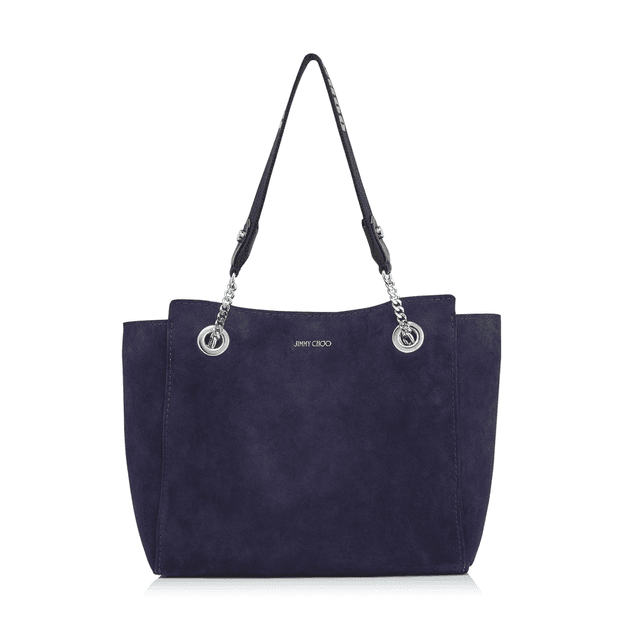 f3afa660c6 FLO SMALL Navy Suede Small Bag | MILANSTYLE.COM