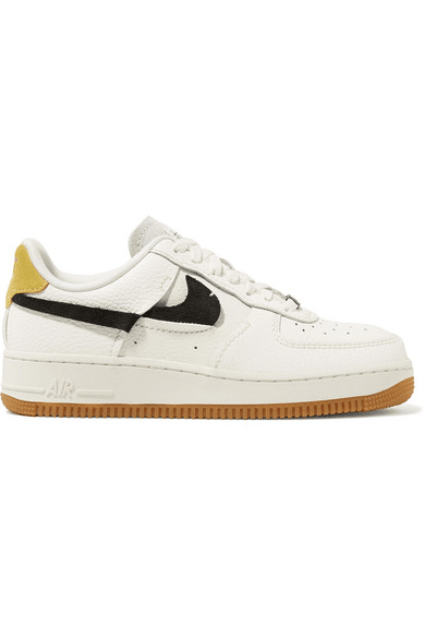 Nike Air Force 1'07 sneakers in off white suede