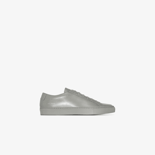 Achilles Leather Low Top Sneakers